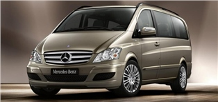 Mercedes Vito bij Depar Rent a Car