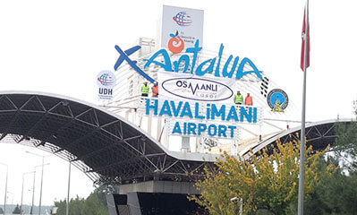 Antalya Flughafen International Terminal